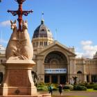 王立展示館とカールトン庭園 (オーストラリア)