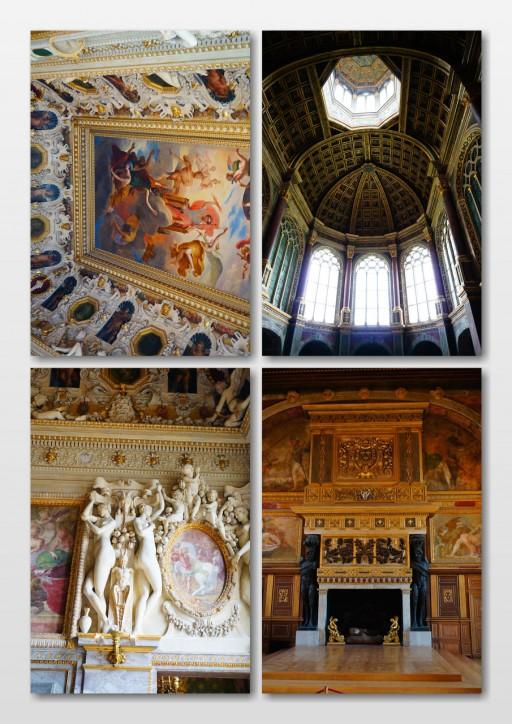宮殿内のホール